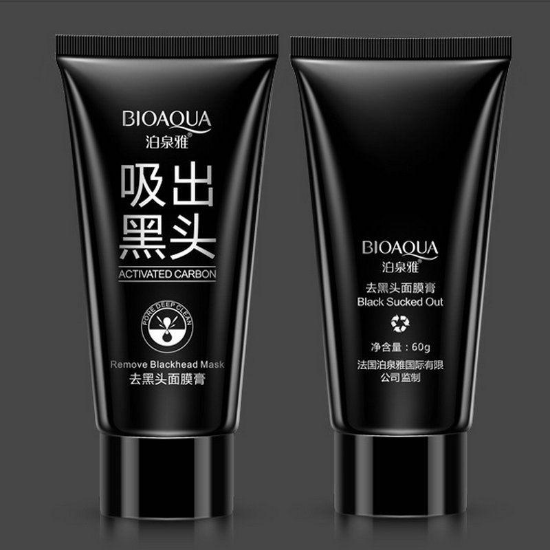 DHL BIOAQUA blackhead black Face mask Care Suction Facial Mask Nose Blackhead Remover Peeling Peel Off Black Head Acne Treatments