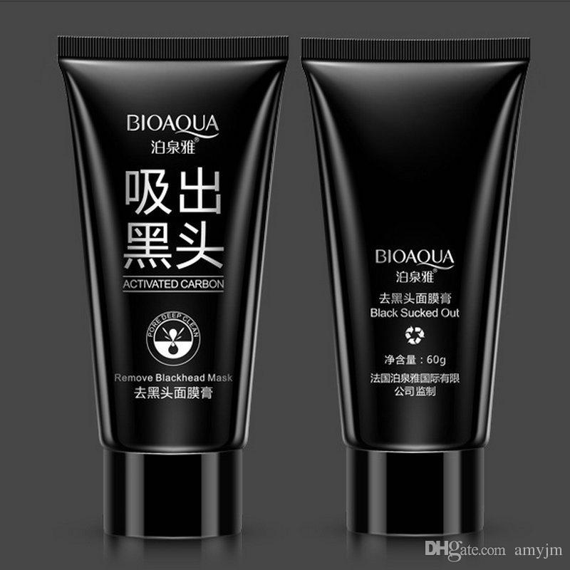 retail BIOAQUA blackhead black Face mask Care Suction Facial Mask Nose Blackhead Remover Peeling Peel Off Black Head Acne Treatments