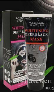 120ml Deep sea and dead sea mud Peel off mask masque one attracts white Moisturizing remove blackhead