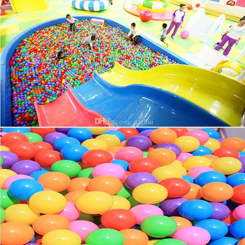 5.5CM Baby Children Growing Ocean Ball Giocattoli Divertimento in acqua Gioco di sabbia Perline con palline Gel Jelly Multi Color Natale Decorazioni feste di nozze WX9-1580