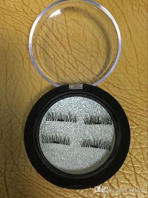 Gros-Magnetic Faux Cils Extension 0.2mm 3D Cils Magnétiques Maquillage Des Cheveux Doux Des Faux Cils Magnétiques avec la livraison gratuite au détail