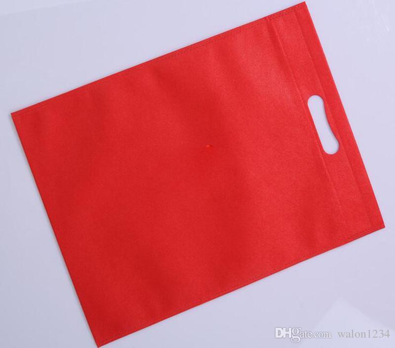 Wholesale 20 Stücke / Los gesponnene Beuteleinkaufstasche, damit Förderung / Geschenk / Schuhe / Chrismas mehr Farbe wählt