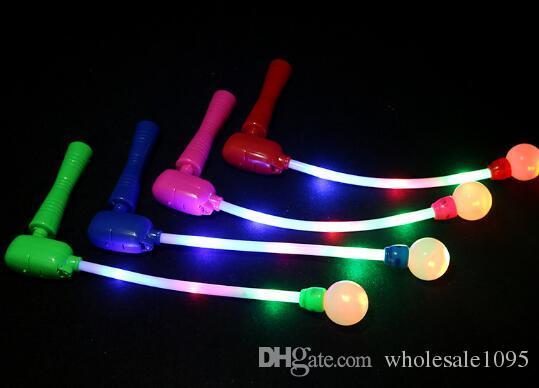 Ведущая звезда красочные мигающие светодиодные палочки огни дети светящиеся музыка палочка игрушка аплодисменты свечение палочка для фестиваля партии YH1012