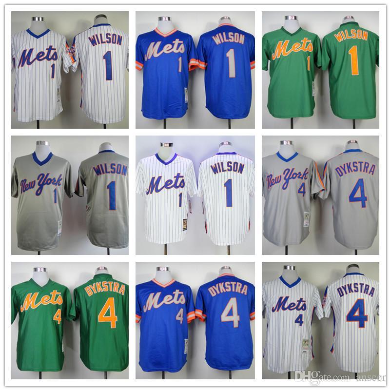 7ffb7202b ... germany 2017 mens new york mets jerseys 1987 1 mookie wilson 4 lenny  dykstra mitchell ness