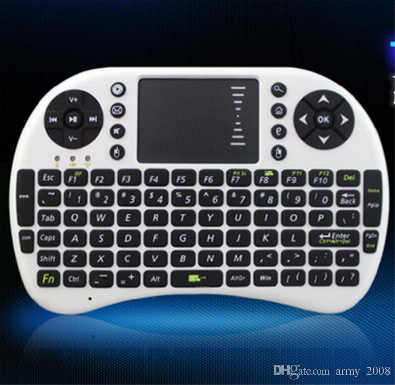 РИИ i8 летать воздуха мыши 2.4 ГГц дистанционного смарт подсветки клавиатуры пульт дистанционного управления сенсорная панель для ТВ коробка Android S905X S912 X96 Т95
