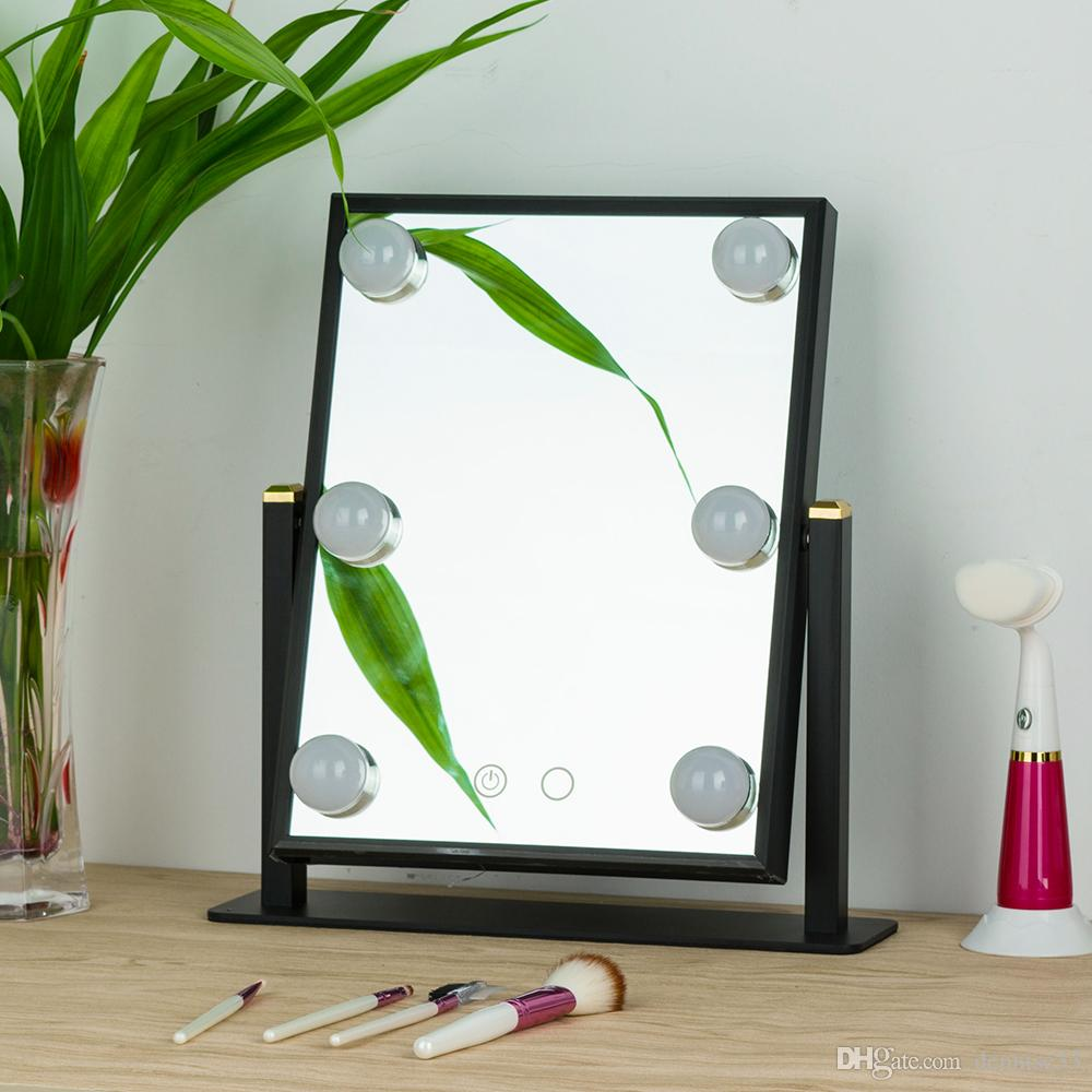 table makeup glass mirror bathroom magnifying decorations for light mount fashionable mirrors wall ideas design reviews vanity lights house mounted lighted with