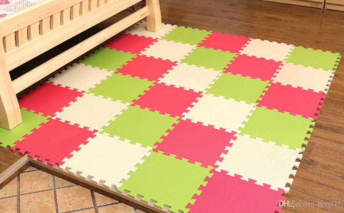2018 2017 High Quality Kindergarten Foam Floor Mat Baby Playmats Eva Foam  Interlocking Exercise Gym Floor Play Mats From Beryl77, $0.89 | Dhgate.Com
