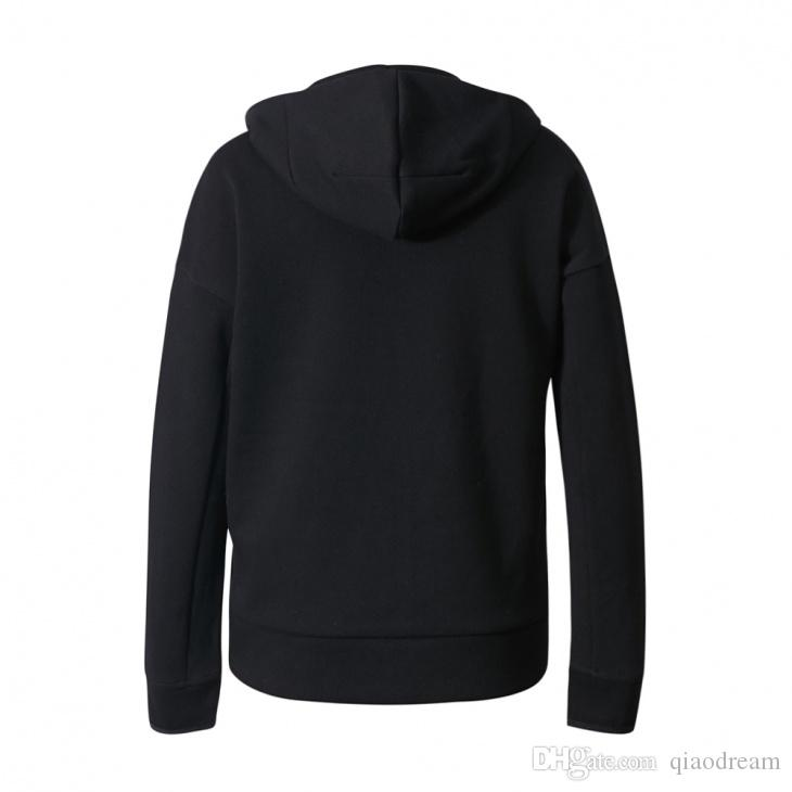 NEW German brand sweater men and women street fashion hoodies cardigan running Exercise Fitness Wear Jogging Clothing Z.N.E. DUO HOODIE
