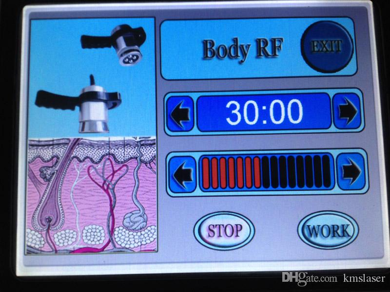 Touch Screen 40K Ultrasonic cavitation body sculpting dimagrimento vuoto RF pelle Macchina corpo sollevatore