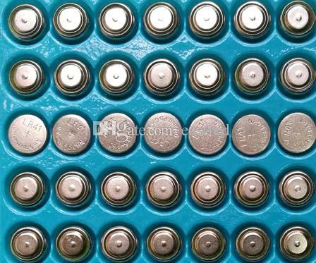 30000 قطع لكل لوط 0٪ HG PB Mercury Free AG3 LR41 392 SR41 192 1.5V Alkaline زر خلية البطارية للساعات، وحرية الملاحة البطاريات الطازجة