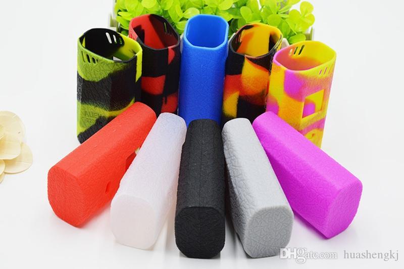 Yeni yabancı 220W MOD Kutusu Silikon Kılıf Cilt Kapak Kılıfı Çanta Kaymaz silika jel koruyucu kabuk 10 renk yüksek kalite Sıcak satış DHL