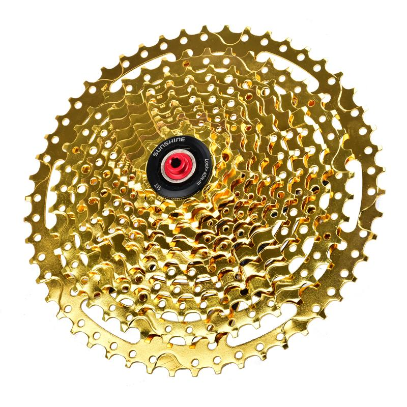 Bicycle Components & Parts Cassettes, Freewheels & Cogs Sunshine Mtb 11 Speed Bike Cycling Freewheels Bicycle Flywheel 11t-50t Cassette