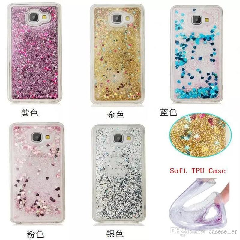 classic fit 6d205 c0992 Liquid Case Soft TPU Floating Glitter Star Quicksand Case For iPhone 7 PLUS  6S 5S SE 5C touch 5/6