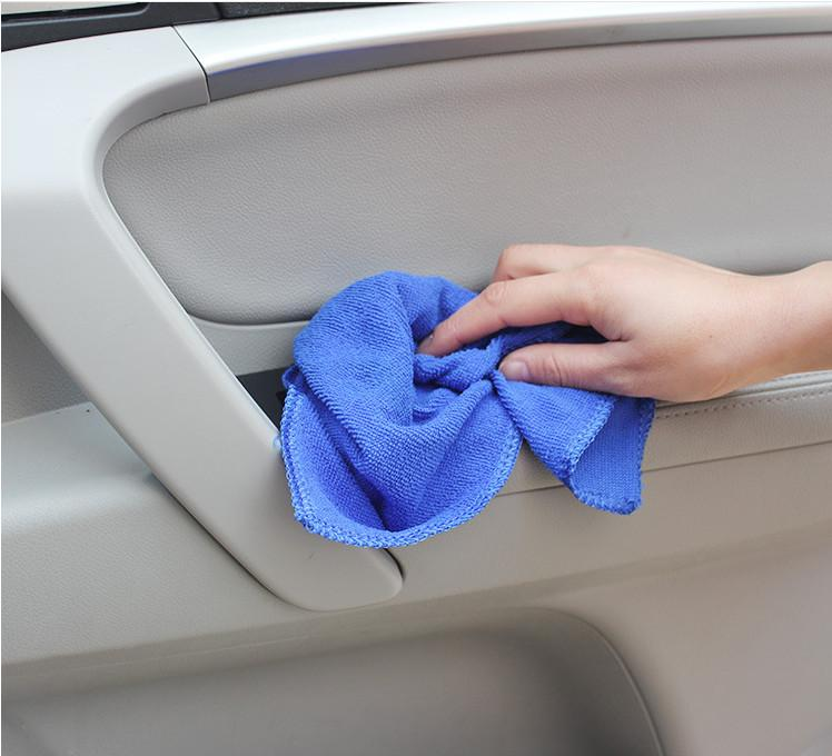 Микрофибра хлопок полотенце для чистки автомобиля мыть чистой тканью автомобиля чистой пыли жидкого масла Ужин пылесос полотенце уход за автомобилем ATP110
