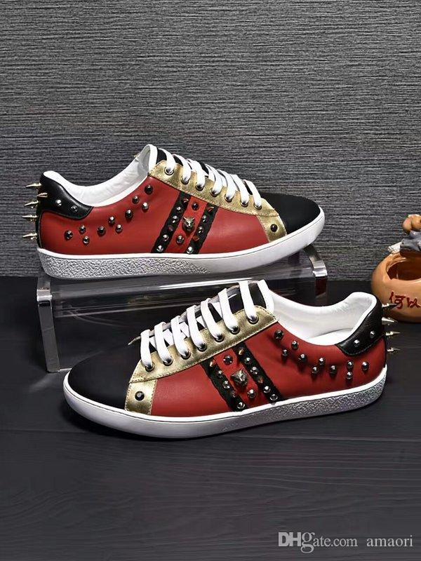 330a0b1eeb8eb4 NEW SPORT FASHION LUXURY DESIGN CASUAL SHOES MEN BRAND DESIGNER Genuine  Leather SNEAKERS MENS RACE RUNNERS Cheap Shoes Shoes For Women From Amaori