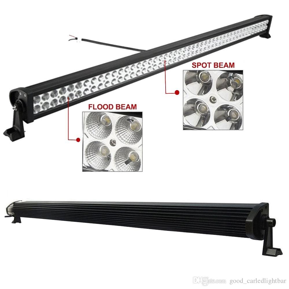 52 Inch 400w Led Working Light Bar Combo Beam For Offroad Truck Jeep Ford 4wd Boat Trailer 4x4 Atv Suv 10 30v Auto Lamp Without Wiring Kit To
