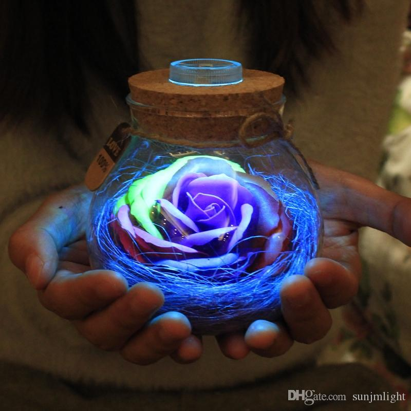 2019 Male Gift Creative To Send His Girlfriend Wife Birthday Girl Bestie Romantic Light Utility From Sunjmlight 1839