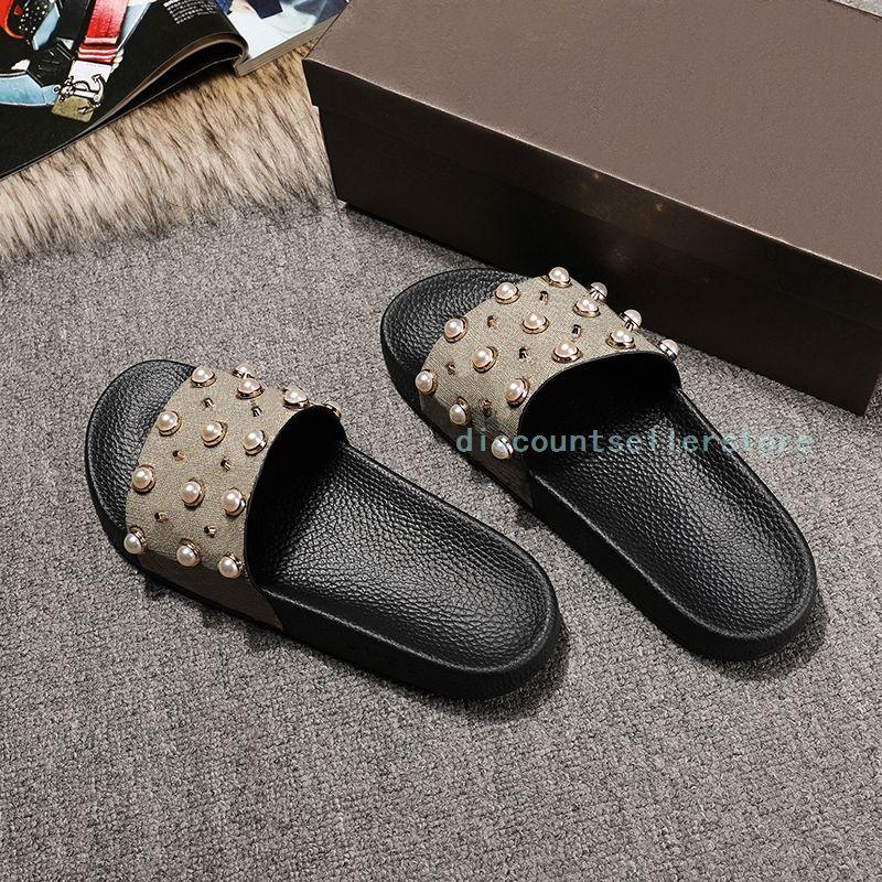 a662055dc87 Men And Women Wear Slippers 2017 Summer New Sandals Casual Beads Slippers  Fashion Outdoor Wear Flip Flops High Heels Heels From Discountsellerstore
