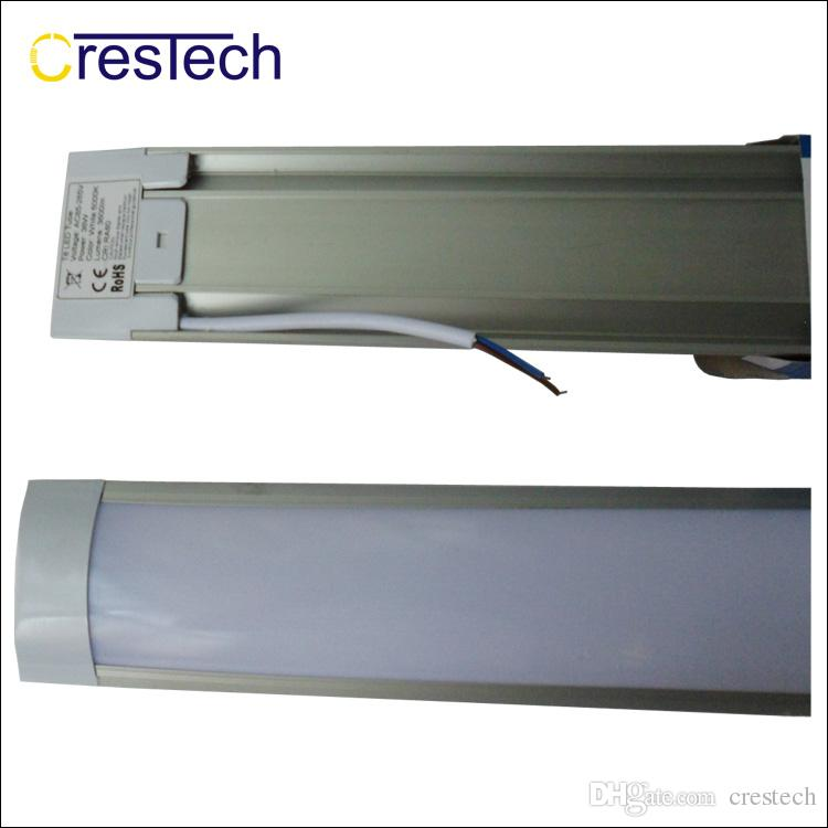 T8 Tube LED tri-proof Light Batten 2FT 3FT 4FT Explosion Proof Two LED Tube Lights Replace Fluorescent Light Fixture Ceiling Grille Lamp