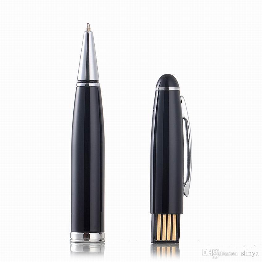 / 8GB Mini Pen Style Disco USB Audio Registratore vocale digitale USB Flash Drive Batteria ricaricabile agli ioni di litio