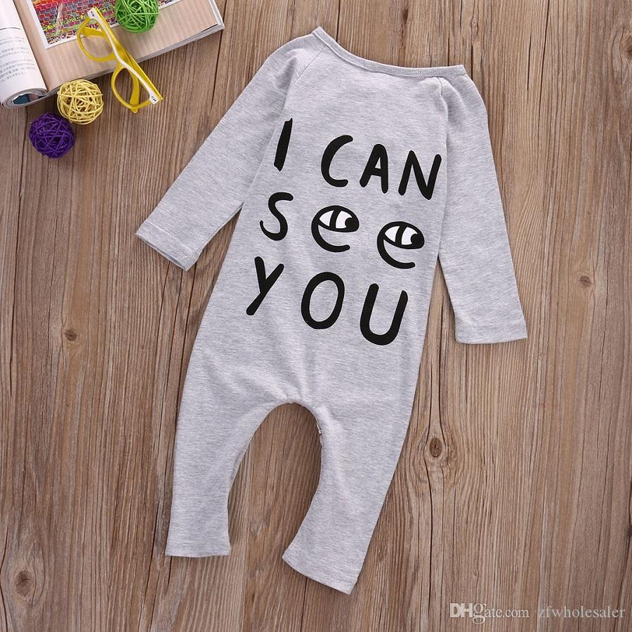 New Toddler Boys Girls Clothing Baby Romper Suit Boutique Kids Clothe Infant Onesies Long Pant Jumpsuit Christmas Pajamas Infantial Leotards
