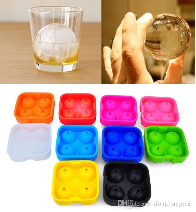 Ice Cube Ball chocolate candy ice cream Tray Brick Round Maker Mold Sphere Mould Party Bar wn068