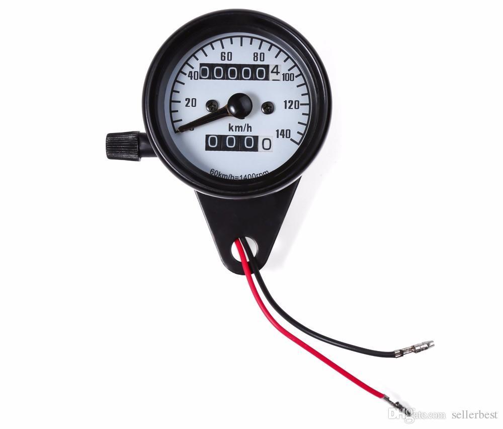 B731 DC 12V Universal Motorcycle Tachometer Meter LED Backlight RPM Shift  for Honda Suzuki Harley Yamaha Motorbike Instrument