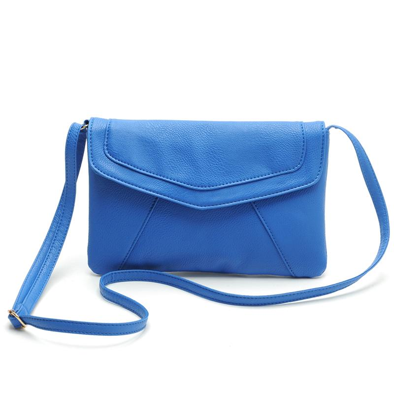 Wholesale Splendid 2016 New Fashion Girl Ladies Messenger Bags Rivet Sweet  Blue Mini Crossbody Bag For Women Trendy Handbags Party Name Brand Purses  ... c43067a168cb1