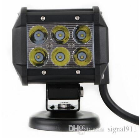 High intensity DC10-30V,6*3W led car working lights,front headlamp,signal light,waterproot IP68