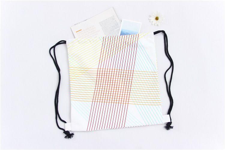 drawstring bag traveling bag children's school bag canvas backpacks kids shopping bags promotional gift by goodfaithgirl