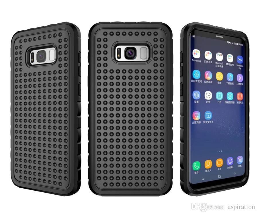 Hybrid High Impact Protective Case Cover for Samsung Galaxy S8/S8 Plus Full Body Armor Shockproof Tough Hard Back Shell
