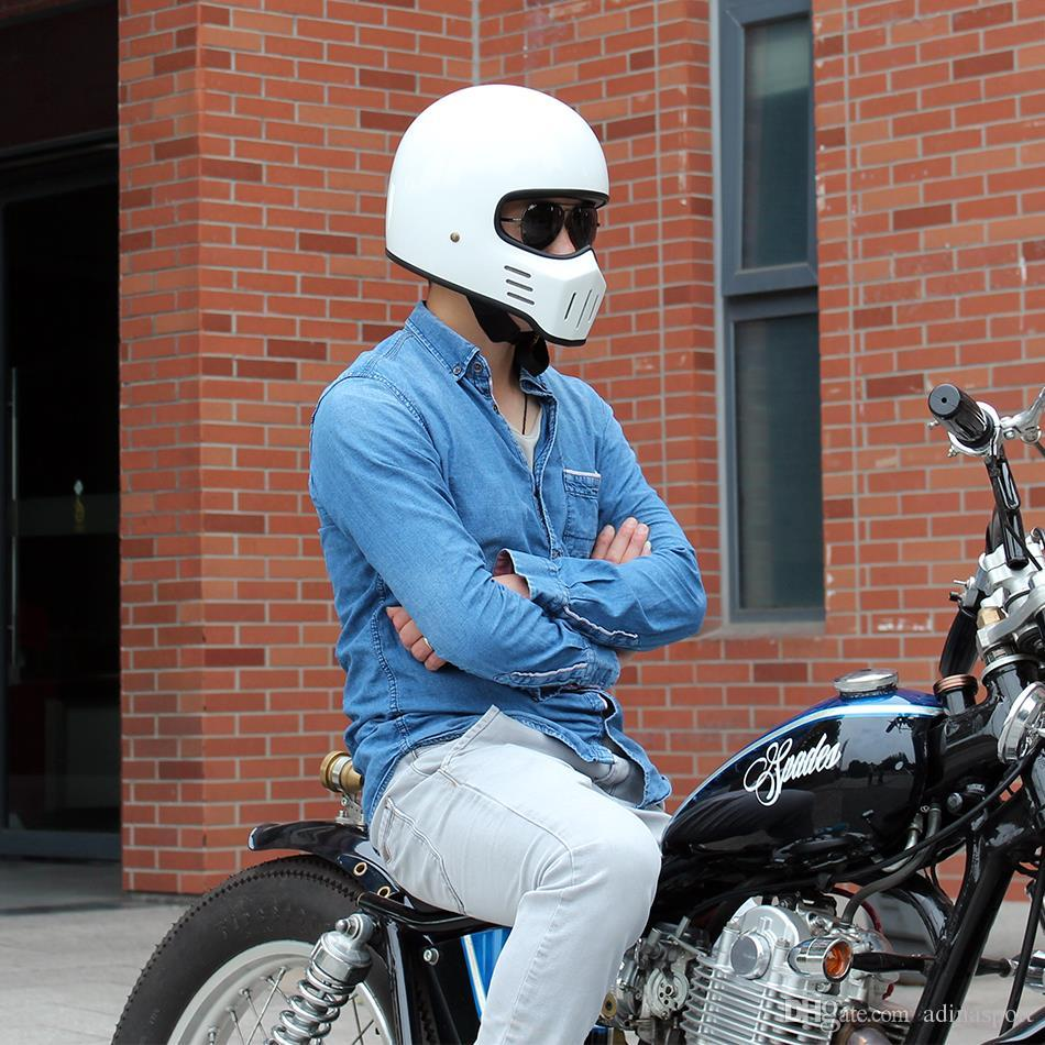 japan brand tt co tokyo retro harley style full face motorcycle helmet tt 01 chopper style. Black Bedroom Furniture Sets. Home Design Ideas