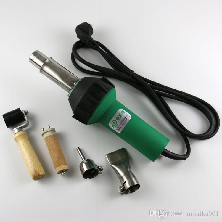 Vendita calda 1600 W Pistola termica ad aria calda Saldatrice in PVC Strumenti di saldatura in plastica con accessori