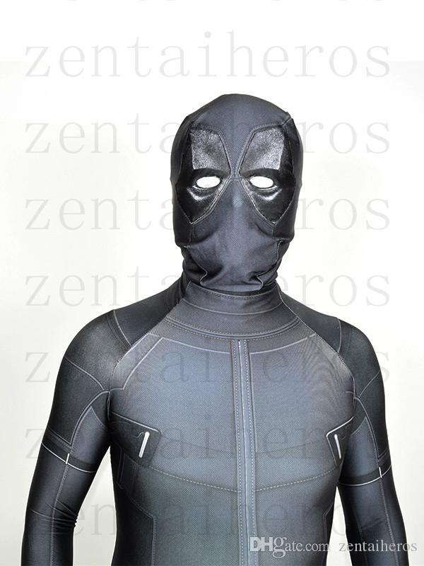 X-Force Deadpool Costume Cinza Dia Das Bruxas Deadpool Party Cosplay Terno
