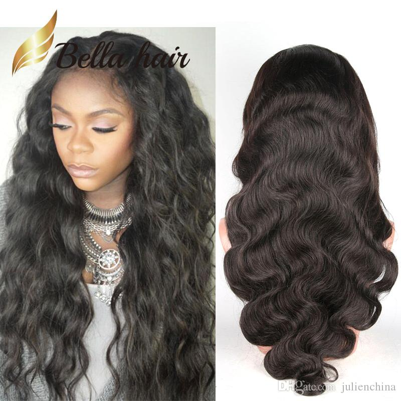 8a4bc6f16 Hair Wigs For Black Women Bouncy Body Wave Charming Wavy Lace Wigs Peruvian  Virgin Human Hair Bella Hair Hair Wig For Women Virgin Hair Wig From  Julienchina ...