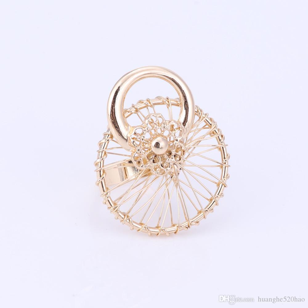 Mode nigérian perles ensemble de bijoux de mariage nuptiale Dubaï or couleur cristal collier boucles d'oreilles ensembles perles africaines ensemble de bijoux