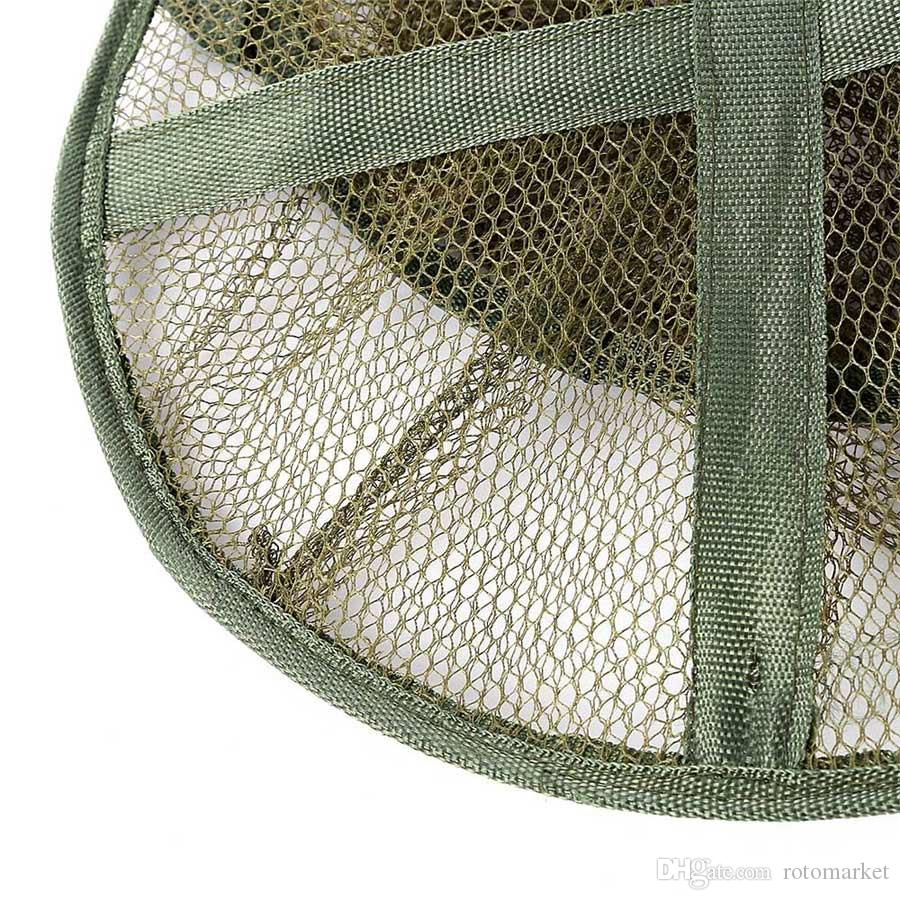 Durable 1.4M 5-layer fishing net practical folding fish care nail machine portable fishing network small grid large mesh network outdoor spo