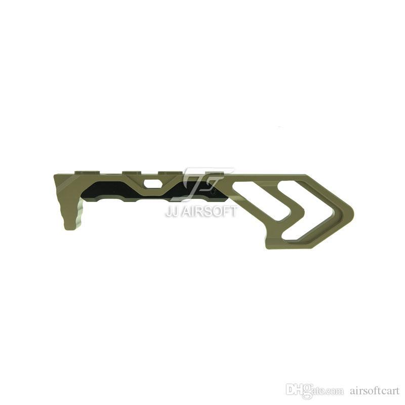 ACI MOD FOREGRIP Parada angular para parada manual para as alças de alumínio M-LOK / MLOK Preto / Vermelho / Castanho / Prateado indestrutíveis