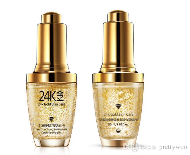 24 كيلو الذهب يوم الوجه كريم تبييض ترطيب المرأة الوجه العناية بالبشرة 30 ملليلتر الشحن المجاني dhl