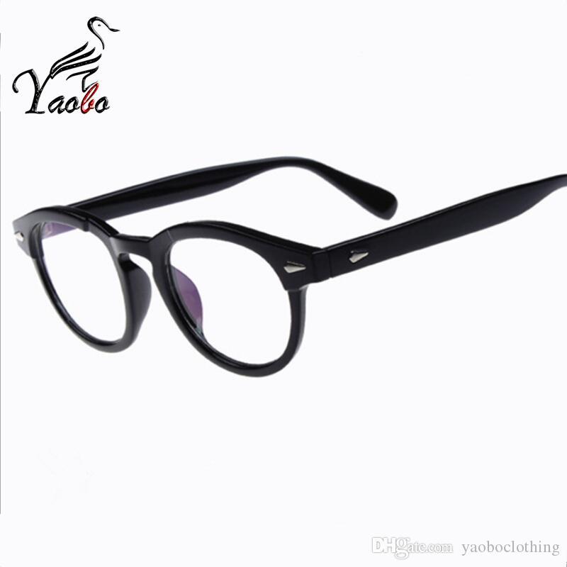 6e141c37614e 2019 Yaobo Vintage Eyeglasses Men Fashion Eye Glasses Frames Brand Eyewear  For Women Eyeglasses For Computer Armacao Oculos De Grau From  Yaoboclothing