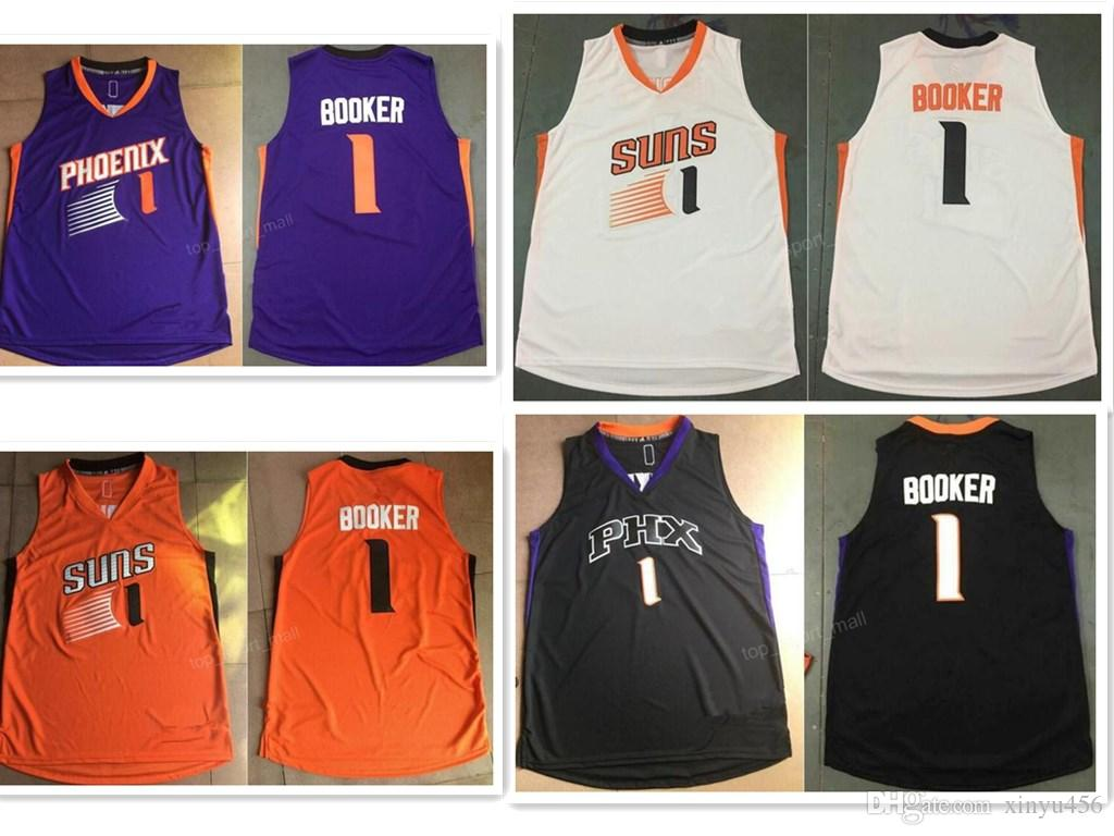 new product 2a1f5 856c8 wholesale orangedevin booker jersey