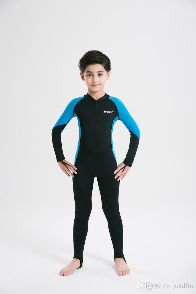2019 Kids Baby Boys And Girls Wetsuit Swimsuit Swim Swear