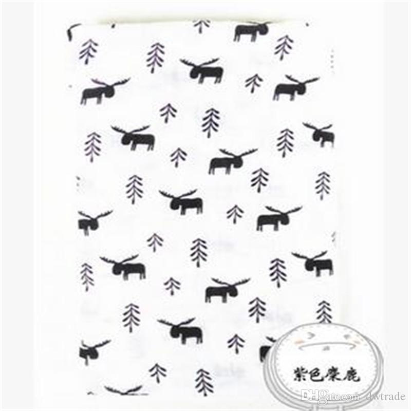 17 design desenhos animados raposa urso lobo panda muslin cobertor aden anais crianças swaddle envoltório cobertor toweling bebê bebê cobertor infantil