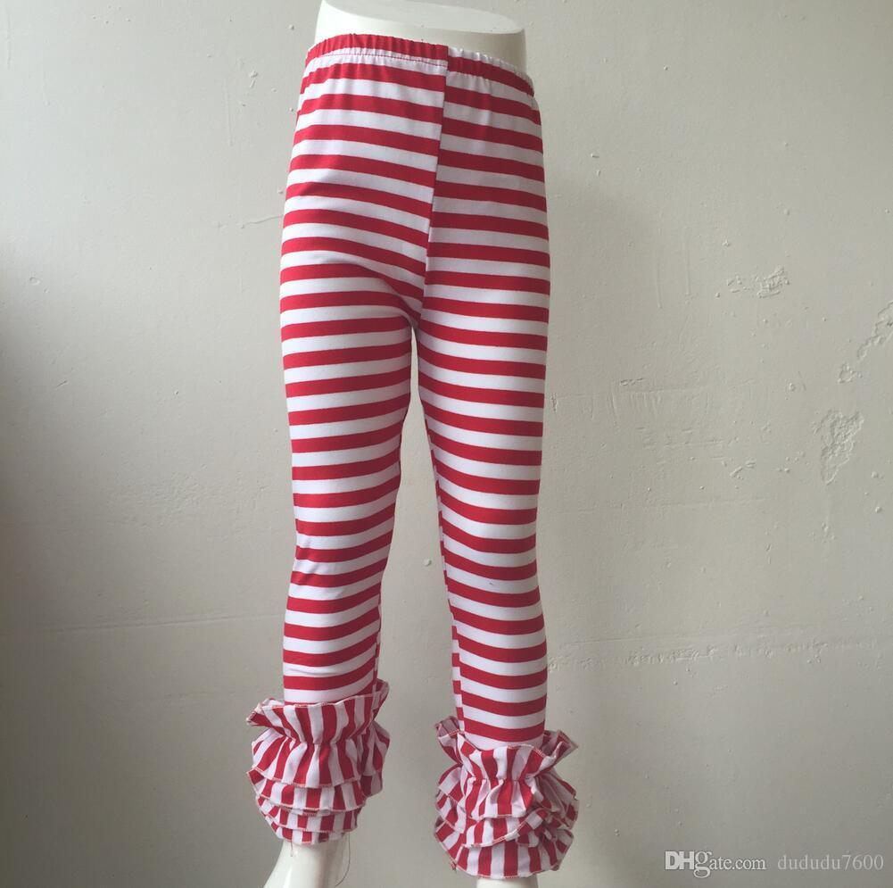 9f8b5f61a26a3 Baby Girl Sew Sassy Ruffle Capris Wholesale Icing Leggings Children Girl  Icing Ruffle Pants