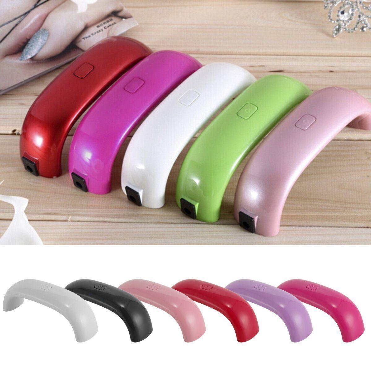 Mini Portable 9W USB LED Nail Dryer Curing Lamp UV Machine for Gel ...