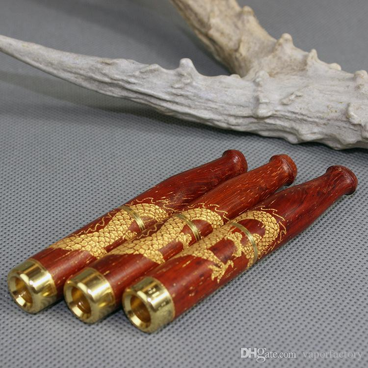 redwood Cigarette Filters red Washable Wooden Cigarette Holder mouth tip Carving smoking pipe Filter Tip tobacco wood mouthpiece mouth piece