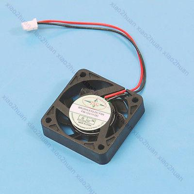Wholesale- HOT DC 12V 2 Pin Brushless Cool Cooler Fan For VGA Graphics