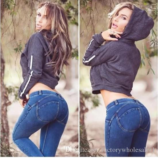 Hot sexy girls in tight jeans