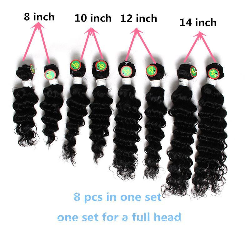 Burgundy Ombre Hair Extensions 10inch Cheap Brazilian Hair Weave