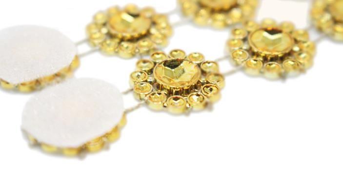 Crystal Net Crystal Sunflower Flower Napkin Rings Holder Buckle Strap Hotel Home Wedding XMAS Party Chair Table DIY Decor